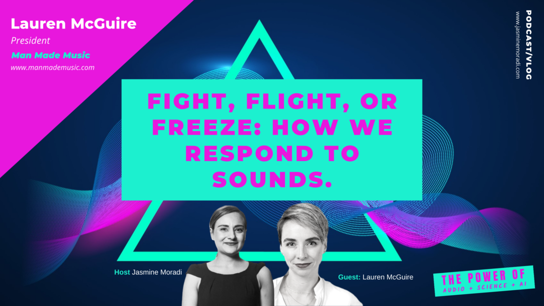 Fight, Flight, Or Freeze-How We Respond To Sounds.-Podcast